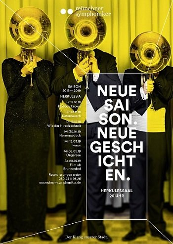 Plakat Hörner
