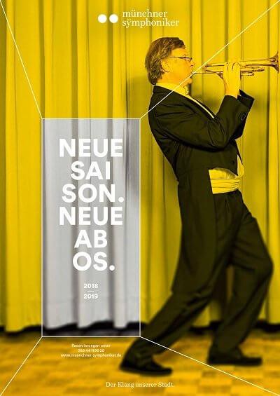 Plakat Trompete